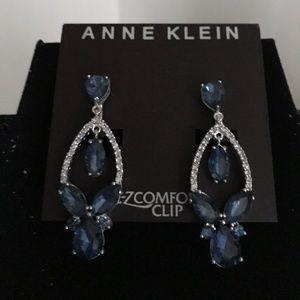 Anne Klein clip earrings